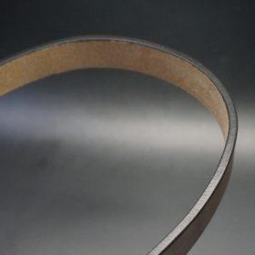 J.ベイカー社製ブライドルレザーのダークブラウン色の30mmベルト(カジュアルバックル/シルバー色)-1-12