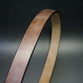 J.ベイカー社製ブライドルレザーのダークブラウン色の30mmベルト(カジュアルバックル/シルバー色)-1-3