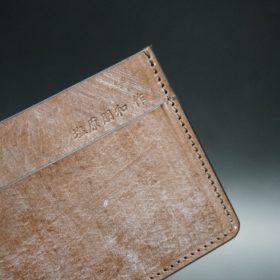 J.ベイカー社製ブライドルレザーのダークブラウン色のカードケース-1-8