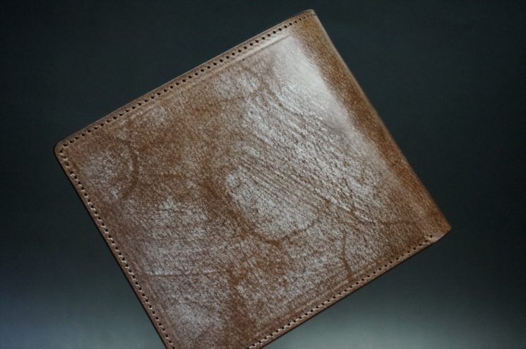J.ベイカー社のブライドルレザーの二つ折り財布