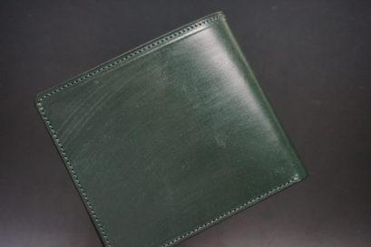 クレイトン社のブライドルレザーの二つ折り財布