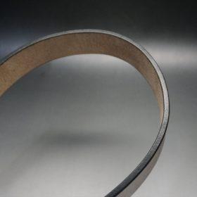 J.ベイカー社製ブライドルレザーのダークブラウン色の40mmベルト(ビジネス&カジュアルバックル/シルバー色/L)-1-11