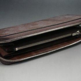 蓋を開けた長財布