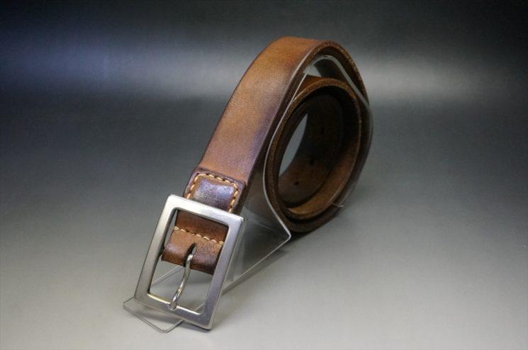 10年間使用したブライドルレザーのベルト