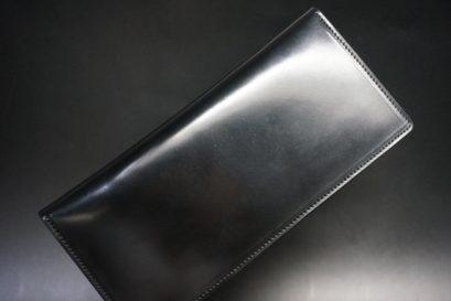 ホーウィンコードバンの二つ折りタイプの長財布