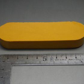 ベージュ色のコバワックスの寸法