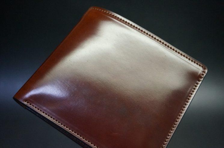 使用開始1日目の二つ折り財布