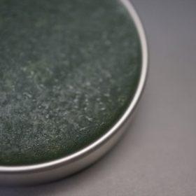 グリーン色のワックスの拡大画像