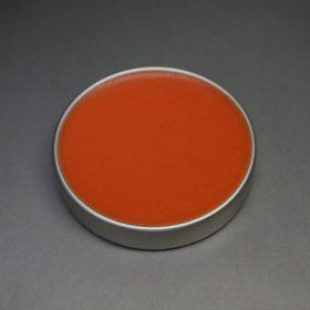 中身のオレンジ色のワックス