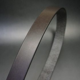 クレイトン社製ブライドルレザーのベルトの帯