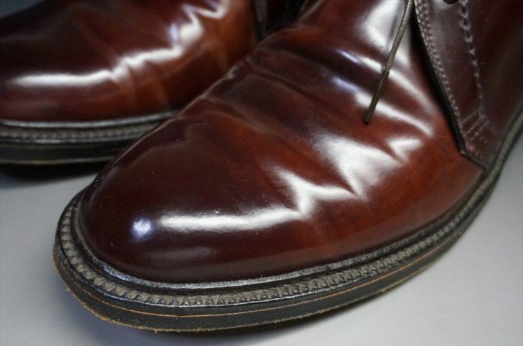 10年使用した靴の拡大画像
