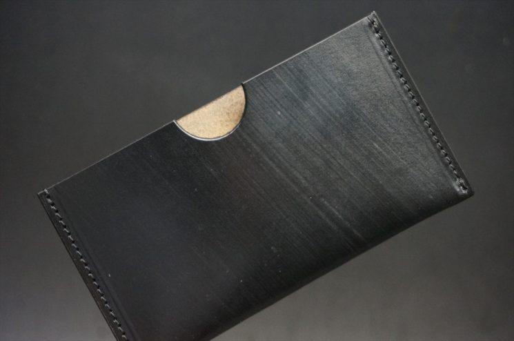 クレイトン社製ブライドルレザーのシンプル名刺入れ
