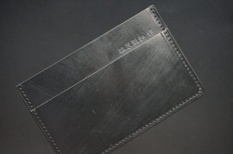クレイトン社製ブライドルレザーのベンズ部位を使用したカードケース