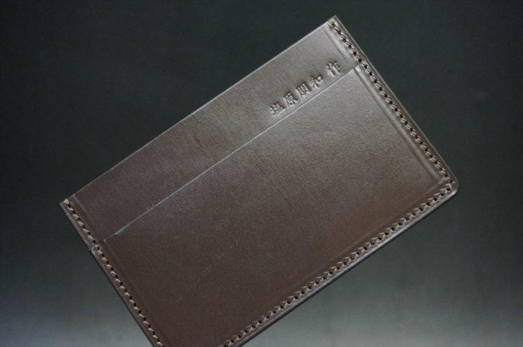 クレイトン社製ブライドルレザーのカードケース
