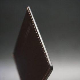 職人仕様の本磨きを施したコバ
