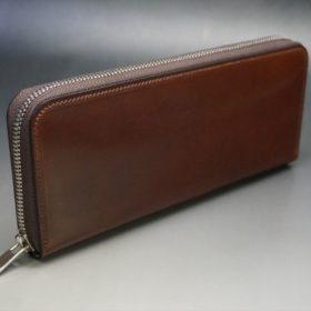 ラウンドファスナー長財布の正面画像