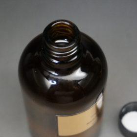 上部からみた瓶の中身