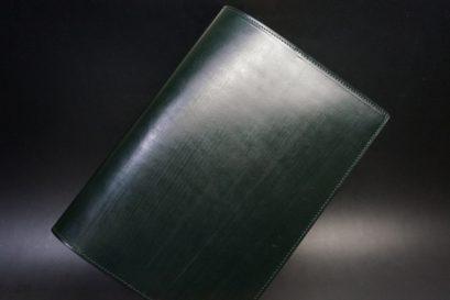 クレイトン社製ブライドルレザーのA5判手帳カバー