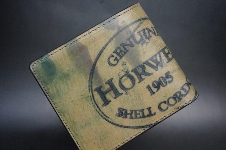 ホーウィンスタンプの二つ折り財布
