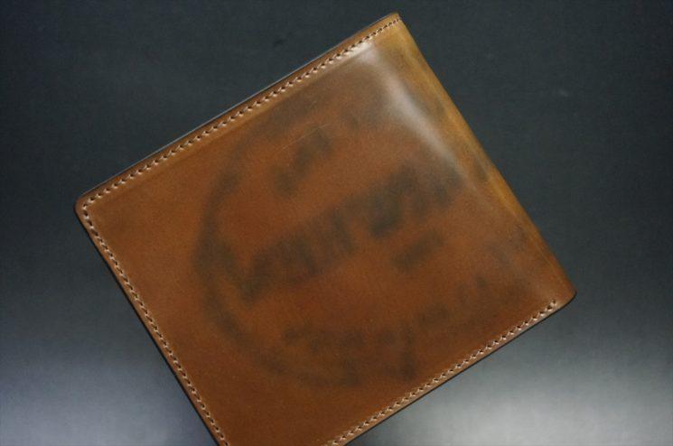 ゴーストホーウィンスタンプの二つ折り財布