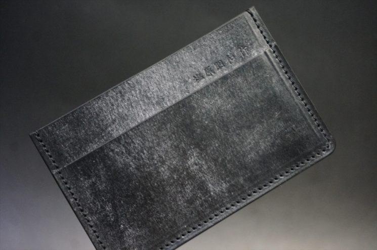 J.ベイカー社製ブライドルレザーのブラック色のカードケース