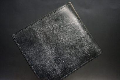 J.ベイカー社製ブライドルレザーのブラック色の二つ折り財布
