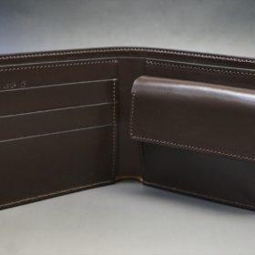 二つ折り財布の内側全体像