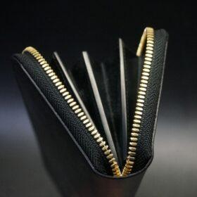 J.ベイカー社製ブライドルレザーの本磨き加工を施したコバ