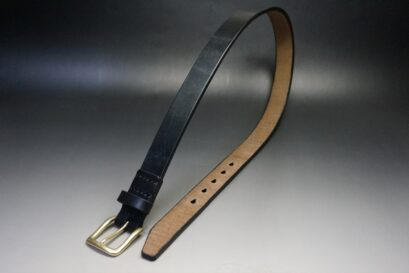 30mm幅のブライドルレザーのベルト