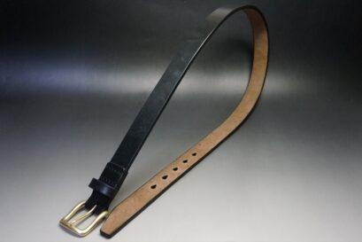 1枚革の極厚ベルト