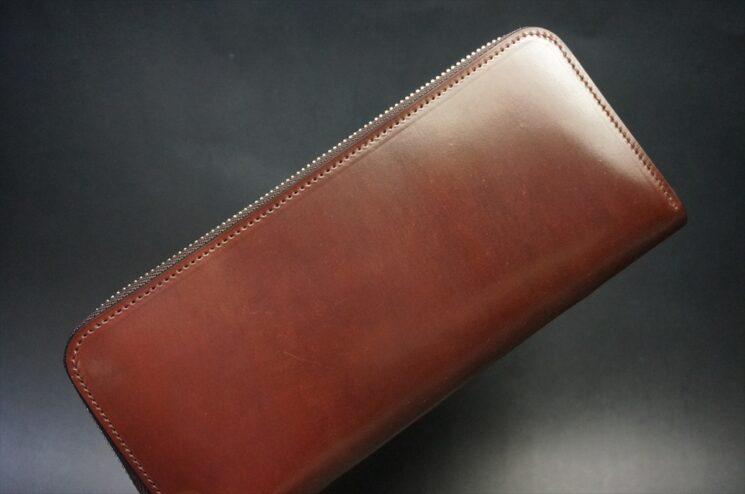 ホーウィン社製シェルコードバンの#2色の長財布