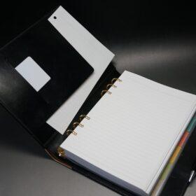 A5サイズのシステム手帳のご使用イメージ-2
