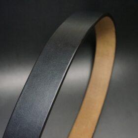 40mm幅のブライドルレザーベルト