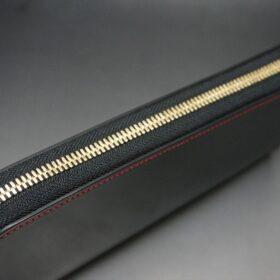 YKK社のゴールド色のファスナー