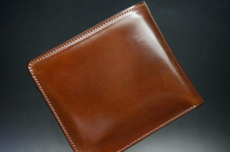 10か月使用したホーウィンコードバンの二つ折り財布