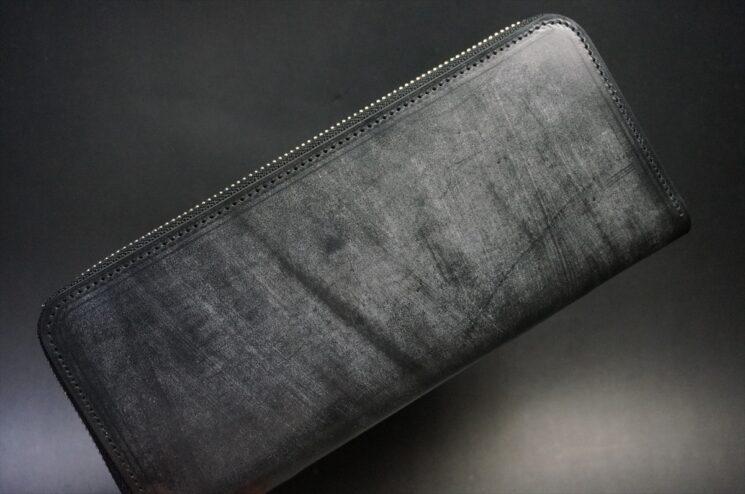 メトロポリタン社製ブライドルレザーのラウンドファスナー長財布