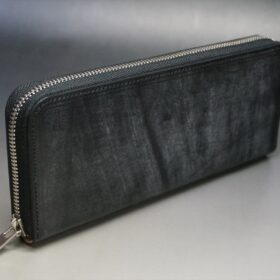 ラウンドファスナー長財布の正面