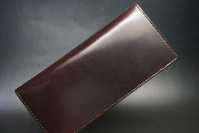 小銭入れなしタイプのホーウィンコードバン長財布