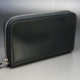 ラウンドファスナー財布の正面
